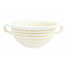 Gmundner Keramik Gelbgeflammt Weitling d: 25 cm / 2,0 L