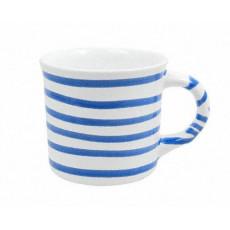 Gmundner Keramik Blaugeflammt Kaffeehäferl glatt 0,24 L / h: 7,8 cm