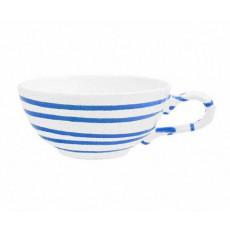 Gmundner Keramik Blaugeflammt Tee-Obertasse glatt 0,17 L