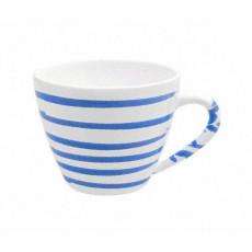 Gmundner Keramik Blaugeflammt Kaffee-Obertasse Gourmet 0,2 L / h: 7,5 cm