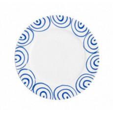 Gmundner Keramik Blaugeflammt Speiseteller Gourmet d: 27 cm / h: 2 cm
