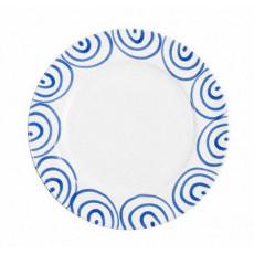 Gmundner Keramik Blaugeflammt Speiseteller Gourmet d: 29 cm / h: 2,2 cm