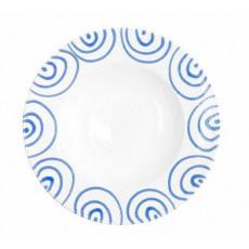 Gmundner Keramik Blaugeflammt Pastateller Gourmet d: 29 cm / h: 4,5 cm