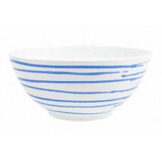 Gmundner Keramik Blaugeflammt Schüssel d: 27 cm / 2,5 L