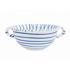 Gmundner Keramik Blaugeflammt Weitling d: 17 cm / 0,6 L