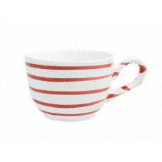 Gmundner Keramik Rotgeflammt Kaffee-Obertasse glatt 0,19 L / h: 6,6 cm