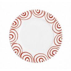 Gmundner Keramik Rotgeflammt Speiseteller Gourmet d: 27 cm / h: 2 cm