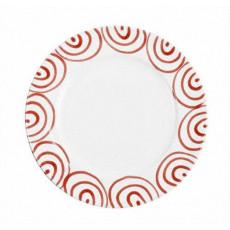 Gmundner Keramik Rotgeflammt Speiseteller Gourmet d: 29 cm / h: 2,2 cm
