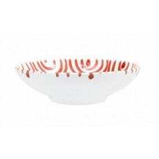 Gmundner Keramik Rotgeflammt Schale groß d: 17 cm / h: 4,8 cm / 0,2 L