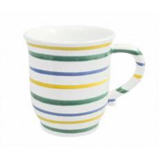 Gmundner Keramik Buntgeflammt Schokotasse 0,3 l