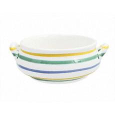Gmundner Keramik Buntgeflammt Suppen Obertasse 0,37 l