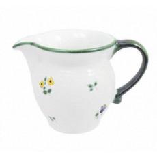 Gmundner Keramik Streublumen Milchgießer glatt 0,3 l - Höhe ca. 9,5 cm