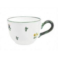 Gmundner Keramik Streublumen Kaffee Obertasse glatt 0,19 l