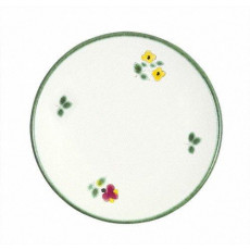Gmundner Keramik Streublumen Espresso Untertasse glatt 11 cm