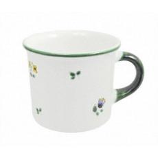 Gmundner Keramik Streublumen Becher mit Henkel 0,24 l