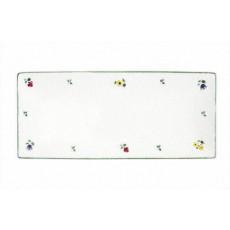 Gmundner Keramik Streublumen Platte rechteckig 30 x 15 cm