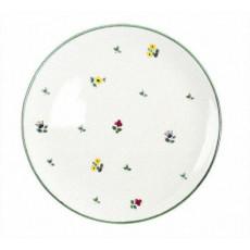 Gmundner Keramik Streublumen Speiseteller Cup 28 cm