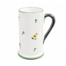 Gmundner Keramik Streublumen Bierkrug Form A 0,3 l