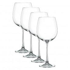 Nachtmann Vivendi Premium - Lead Crystal Rotwein Pokal Glas Set 4-tlg. 727 ml / h: 242 mm