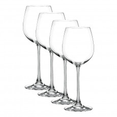 Nachtmann Vivendi Premium - Lead Crystal Weißweinkelch Glas Set 4-tlg. 387 ml / h: 216 mm
