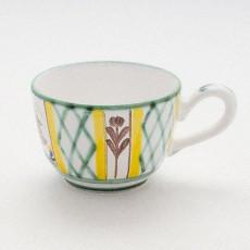 Gmundner Keramik Jagd Kaffee Obertasse glatt 0,19 l