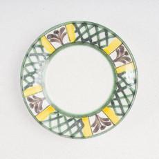 Gmundner Keramik Jagd Mokka Untertasse glatt 11 cm