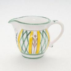Gmundner Keramik Jagd Milchkännchen glatt 0,3 l - Höhe ca. 9,5 cm