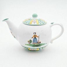 Gmundner Keramik Jagd Teekanne glatt 1,5 l