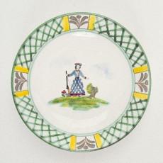 Gmundner Keramik Jagd Suppeneteller Cup 20 cm