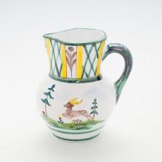 Gmundner Keramik Jagd Krug Wiener Form 0,5 l