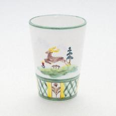 Gmundner Keramik Jagd Trinkbecher h: 10 cm
