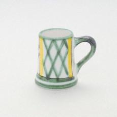 Gmundner Keramik Jagd Krug Stamperl h: 5 cm