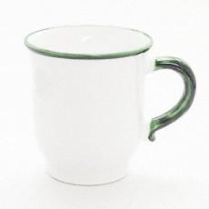 Gmundner Keramik Grüner Rand Schoko Obertasse 0,3 l