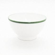 Gmundner Keramik Grüner Rand Frühstücksschale 14 cm