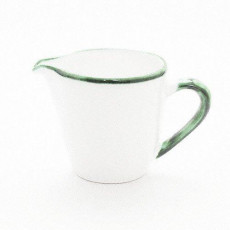 Gmundner Keramik Grüner Rand Milchgießer Gourmet 0,2 l