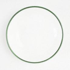 Gmundner Keramik Grüner Rand Suppenteller Gourmet 24 cm