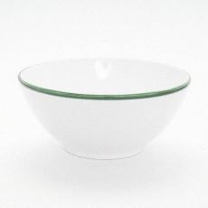 Gmundner Keramik Grüner Rand Schüssel rund 20 cm