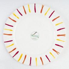 Gmundner Keramik Landlust Speiseteller Gourmet 29 cm