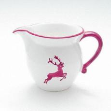 Gmundner Keramik Bordeauxroter Hirsch Milchgießer glatt 0,5 L / h: 10,8 cm