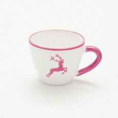 Gmundner Keramik Bordeauxroter Hirsch Mokka-/Espresso-Obertasse Gourmet 0,06 L / h: 5,1 cm