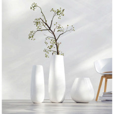 ASA Ease XL Vase weiß h: 32 cm / d: 28 cm