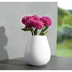 ASA Ease Vase weiß h: 18 cm / d: 9 cm