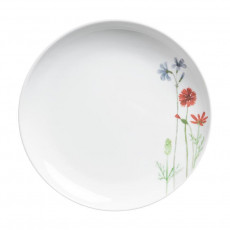 Kahla Wildblume - Five Senses Frühstücksteller blau/rot 22 cm