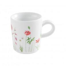 Kahla Magic Grip Wildblume - Five Senses Espresso-Obertasse rot/gelb 0,09 L