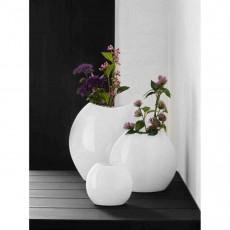 ASA Moon Vase weiß 16x6,5x16 cm