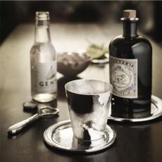 Robbe & Berking Martele Bar-Kollektion - 90 g versilbert Flaschenteller
