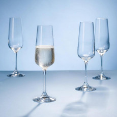 Villeroy & Boch Ovid Kristallglas Sektglas Set 4-tlg. 0,25 L / h: 228 mm