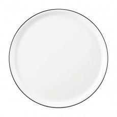 Seltmann Weiden Modern Life Black Line Pizzateller rund d: 29,5 / h: 2,2 cm