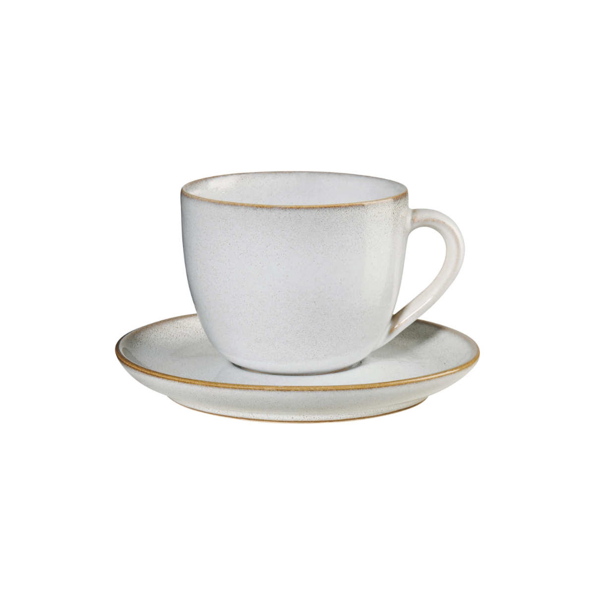 Asa Seasons Sand Cappuccino Cup With Saucer 0 23 L H 7 5 Cm