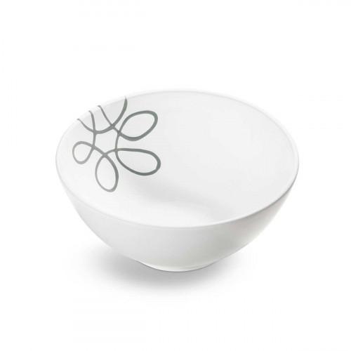Gmundner Ceramic Pure Flamed Grey bowl d: 23 cm / h: 10,1 cm / 1,5 L